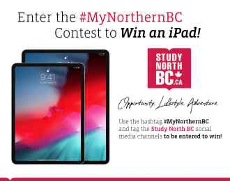 #MyNorthernBC Contest Poster